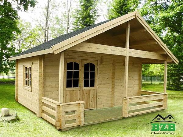 Viking 1 Sauna Kit Assembled