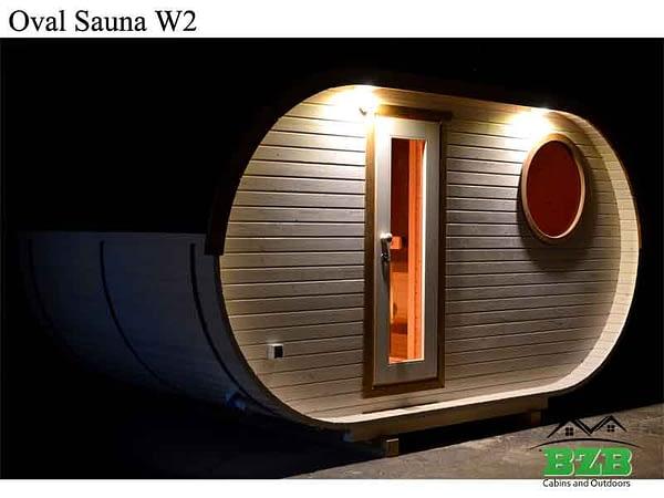 Oval Sauna W2