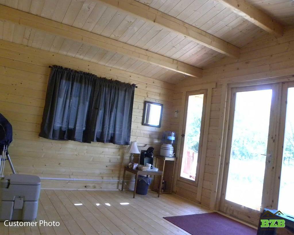 Sunset-Log-Cabin-Kit-Interior-photos