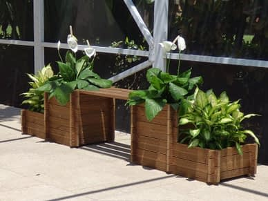 Marigold42 Planter bench box